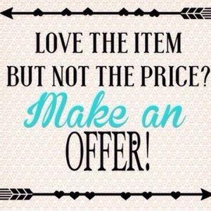 Make an offer! 😉✨